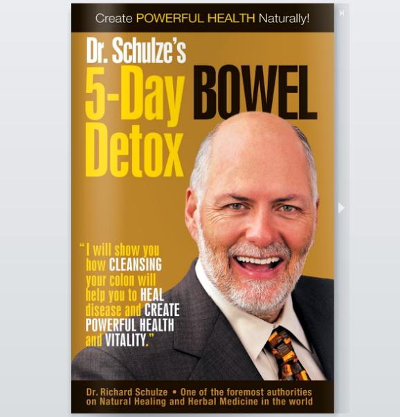 5-ngày Tẩy lọc Đường ruột: những THẮC MẮC và GIẢI THÍCH của Dr. Schulze