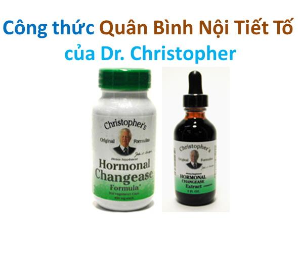 Công thức Quân Bình Nội Tiết Tố của Dr. Christopher