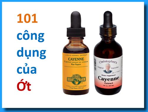 101 công dụng của ỚT – Trà ỚT chữa 6 bệnh linh mục Lý Văn Ca