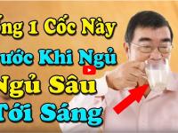 10 đồ uống trước khi ngủ RẤT TỐT CHO SỨC KHỎE